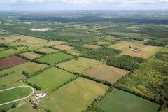 Aerial view in Canada (2). Aerial view in Canada. Rockton area, Ontario Stock Photos