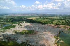 Aerial view in Canada (3). Aerial view in Canada. Rockton area, Ontario Stock Photos