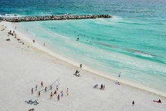 Aerial view of Cancun, Mexico. Stock Photography