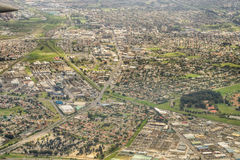 Aerial view of Cape Town royalty free stock photos