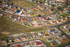 Aerial View from Cape Town Stock Photos