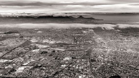 Aerial view of Cape Town Royalty Free Stock Image