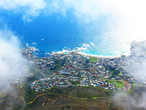 Aerial view of Cape Town Royalty Free Stock Photo
