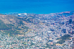 Aerial view of Cape Town, South Africa Stock Image