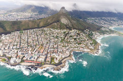 Aerial view of Cape Town – South Africa Royalty Free Stock Photo