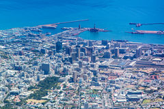 Aerial view of Cape Town, South Africa Royalty Free Stock Image