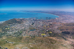 Aerial view of Cape Town, South Africa Stock Images