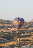 Aerial view of cappadocia mountain area Royalty Free Stock Images