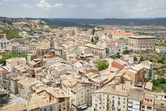 Cardona, Catalonia, Spain Stock Photography