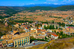 View from a castle of Cardona Stock Photography