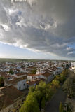 Aerial view of Castro Verde, in the Alentejo Royalty Free Stock Images