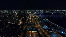 Aerial View Center City Philadelphia & Surrounding Area stock video