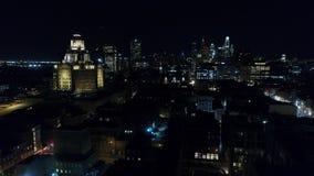 Aerial View Center City Philadelphia & Surrounding Area stock video footage