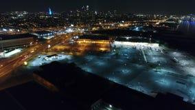 Aerial View Center City Philadelphia & Surrounding Area stock footage