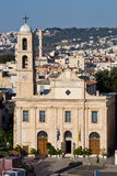 Aerial view of Chania Royalty Free Stock Images
