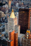 Aerial view of Chelsea buildings, Manhattan, NYC Stock Image