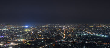 Aerial view of Chiang Mai city, Thailand Stock Image
