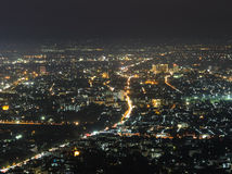 Aerial view of Chiang Mai city, Thailand Royalty Free Stock Image