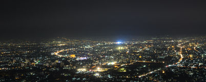 Aerial view of Chiang Mai city, Thailand Royalty Free Stock Photo