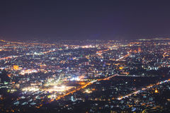 Aerial view of Chiang Mai Royalty Free Stock Image
