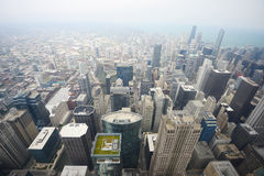 Aerial view chicago Royalty Free Stock Photo