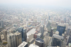 Aerial view chicago Stock Photography