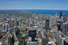 Aerial view of Chicago Royalty Free Stock Image