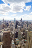 Aerial View (Chicago Downtown) Stock Photography