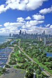 Aerial View of Chicago, Illinois Royalty Free Stock Photography