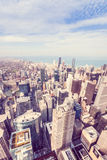 Aerial view of Chicago's north side Royalty Free Stock Photo