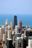 Aerial view of Chicago skyline Royalty Free Stock Image