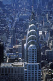 Aerial view of Chrysler Building from Empire State Building Royalty Free Stock Photography