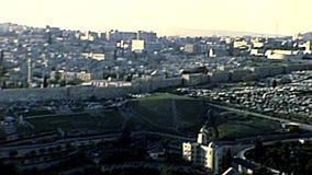 Church of Mary Magdalene of Jerusalem stock footage