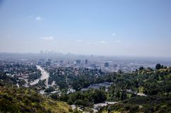 Aerial View of the City Royalty Free Stock Images