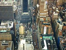 Aerial View of City Buildings during Daytime Royalty Free Stock Image