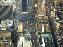 Aerial View of City Buildings during Daytime Royalty Free Stock Photography