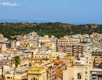 Aerial view of Cagliari (hdr) Royalty Free Stock Photo