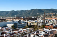 Aerial view of the city of Cordoba Royalty Free Stock Photo
