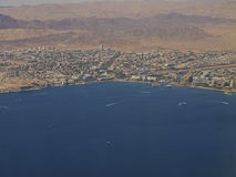 Aerial View of the city of Eilat Stock Photos