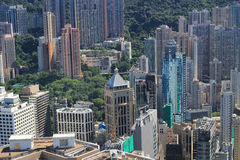 Aerial view of the city at IFC Royalty Free Stock Photo