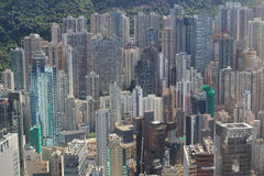 Aerial view of the city at IFC Royalty Free Stock Images