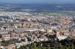 City of Jaen, Andalusia, Spain Stock Photography