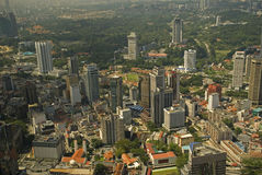 Aerial view of the city, Kuala Lumpur, Malaysia Stock Image