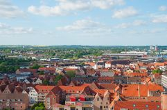 City of Lubeck Germany Royalty Free Stock Photos
