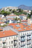 Aerial view of city of Nice Stock Photo
