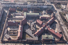 Aerial view of a city Prison Stock Photos