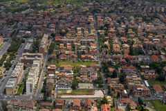 Aerial view of the city of Rome Royalty Free Stock Photos