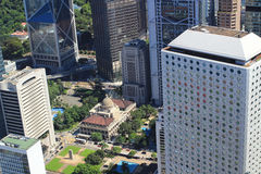 Aerial view of the cityscape at IFC Royalty Free Stock Photos