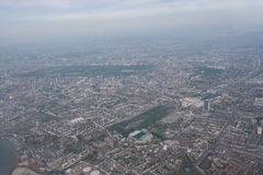 Aerial view of cityscape, London, UK Stock Image