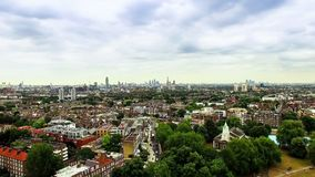 Aerial View of Clapham and Battersea in London Royalty Free Stock Image
